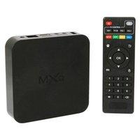 Wholesale Original Quad Core MXQ Smart TV Box Android Amlogic S805 Kodi Fully Loaded Media Player Update MX TV Box DHL AA