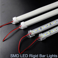 bar specials - Waterproof SMD cm LED Hard Rigid Strip Cabinet Bar Light Pure White Warm White With Cover DC12V