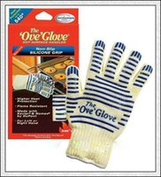 Wholesale High Quality Ove Glove Microwave oven Glove F Heat Proof Resistant Cooking Heat Proof Oven Mitt Glove Hot Surface Handler DHL FREE