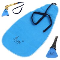 artificial suede - 2015 cute product Artificial Faux Suede Cleaning Cloth for Flute Clarinet Saxophone MIA_644