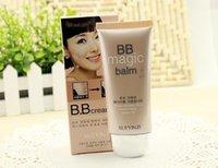 2,015 BB Cream chaud coréenne crème cc 60ml Parfait Couverture anti-rayonnement BB crème cosmétique Blanchiment Concealer 5 couleurs Maquillage Correcteur