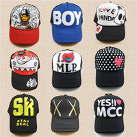 Wholesale Hip Hop Hats Lovers Cap Hip Hop Hats Fashion Womens Mens Spring and Summer Lovers Cap Hot Womens Printing and Baseball Cap