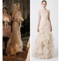 gossip girl - Gorgeous Blake Lively Serena Tulle One Shoulder Bridesmaid Dress Gossip Girl Season
