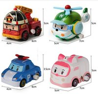 best little car - In Stock EMS Robocar Poli Toy Robot Car Transformation Toys New Toy Best Gift for little Girl Boy South Korea Thomas toys