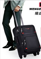 Wholesale The Swiss Army knife inch high end business trolley universal wheel suitcase