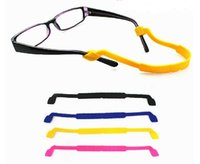 Wholesale colorful Children eyewear cord kids glasses neck strap eyeglass holder silicone