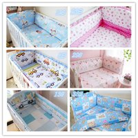 Wholesale 2014 Carton Baby Bedding Sets Crib Bedding Set For Baby Baby Bedding Bumper Cotton Baby Bedding Sheet is Customized