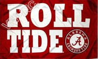 banner rolls - The University of Alabama Roll Tide Flag NCAA ft x ft Polyester Banner Flying cm Custom flag sport helmet AU22