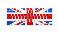 Wholesale 2016 Hot UK US National Flag Silicone Keyboard Protector For MacBook Pro Air Retina inch Waterproof
