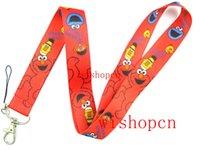 badge pattern - Popular Cartoon Sesame Street patterns Lanyards Keychain ID Badge Holder u02