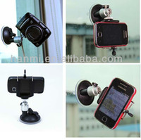 Cheap New Vacuum Suction Cup Camera Mount Glass Vehicle-mounted Sucker + Phone Holder for Camera Vedio DVR Car GPS Phone iPhone