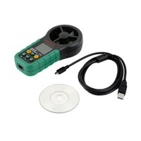 anemometer usb - New MS6252B Digital Anemometer Air Volume Ambient Temperature Humidity USB new arrival