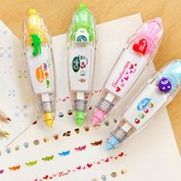 Wholesale Korea Stationery Cute Novelty Decorative Correction Tape Correction Fluid School Office Supply pc