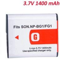 Wholesale High quality Digital Batteries V mah Camera Battery for Sony NP BG1 NP FG1 DSC H3 DSC W70 BC CSGE BC CSGD W30