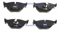 Wholesale High Knight Roewe MG MG6 MG7 rear brakes carbon based ceramic brake brake pads