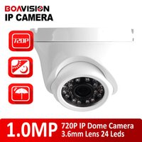 indoor mini dome ip camera - H CMOS P Mini Dome IP Camera mm Fixed Lens Leds Night Vision IR m Waterproof Outdoor Onvif P2P Metal Housing