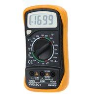 Wholesale HYELEC MAS838 Professional Digital LCD Display Multifunction Mini Multimeter Temperature Test Multimetro LCR Meter