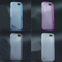 Wholesale A iphone S plus Transparent TPU case Clear cover soft silicon Case Back Cover for iphone S iphone plus samsung galaxy S5 S6 Note5