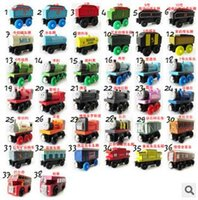 Wholesale 2015 Toy Car Kid Toy Toy Car Hot Kid Small Train Toy Children Wooden Thomas Locomotive and Thomas Orbit Toy Educational Toy LJJC1204