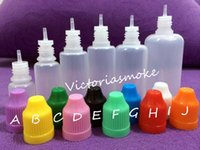 needle bottle - Fast Shipping Soft Style Needle Bottle ml ml ml ml ml Plastic Dropper Bottles Child Proof Caps LDPE E Cig E Liquid Empty Bottle