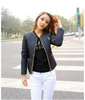 winter jackets for women - NEW Jackets Women Winter and Autumn Fashion Coat for Woman Cotton Jacket Personalized Metal Zipper Decorationplse Size M L XL