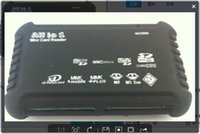 Wholesale 2015 New Arrival all in one cf card reader support SD CF XD MS TF M2 Easy to carry download and upload and has up to Mbps of bandwidth