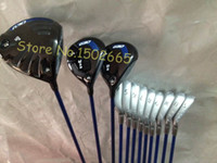 Wholesale G30 Complete set golf clubs G30 driver G30 fairway woods G30 golf irons set WUS total set include headcover