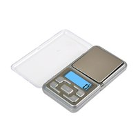 Wholesale 1000 g g LCD Digital Precision Electronic Pocket Scales Mini Professional Balance Scale With Batteries DHL Free Ships