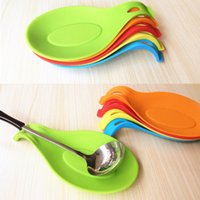Wholesale Silicone Spoon Insulation Mat Placemat Drink Glass Coaster Tray Tool