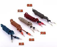 audio materials - AUX audio line MM audio line toward public vehicle AUX the stereo cables lengthening meter woven material