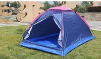 Wholesale New Double folding waterproof tent tendon Outdoor monolayer exposed beach camping tour Relief