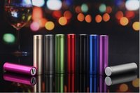 Wholesale 2600mAh Portable Power Bank Travel Bank Charger External Backup Battery Charger Emergency Power Pack For iPhone S Samsung S6 All Cell Phone