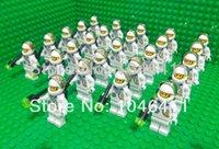 astronaut dolls - 26pcs astronaut Minifigure compatible Ninja Building Block doll Loose Brick accessory WOMA Sluban Decool mini figures