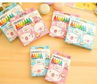 Wholesale New children Hobby stationery Drawing crayons Non toxic crayon colors colors colors