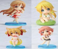 adult tv online - Hotsell cm japanese anime figures Sword Art Online Asuna swimsuit Q version Model adult toy