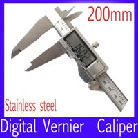Wholesale 200mm stainless steel Electronic vernier caliper MOQ