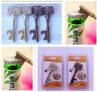 beer party accessories - Wine Bottle Openers Copper Color Metal Bar Tool Key Beer Opener For Gift Dhgate Party Accessory Opener
