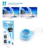 Wholesale Jelly Lens Universal Special VIGNETTE No Effect Lens for Cell Phone and Camera