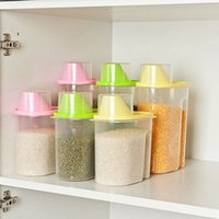 Wholesale D1U New and Hot selling Food Grain Plastic Candy storage Box Containers Kitchen Accessories Tool