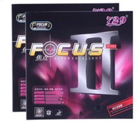 Wholesale High quality table tennis rubber Focus series focus II table tennis rubber with sponge