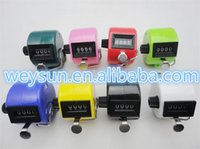 Wholesale DHL Freeshipping New Digits Number Hand Tally Counter for Golf Sport