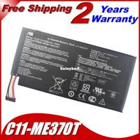asus battery pack - Super original C11 ME370T Laptop Battery For Asus Nexus GB GB GB Rating V mAh Wh Li Polymer battery Pack