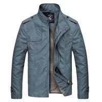 khaki shorts - Mens Jacket Fashion Winter Polyester Stand Collar Jacket Slim Short Thin Coat Solid Color Colors Large Size Parka XL Winter Jacket