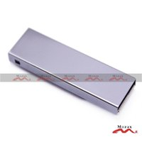 Wholesale 50 GB USB Drive Stick Memory Flash Pendrive Laser Engraved Logo Service Metal Clips True Storage Silver