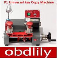 universal milling machine - 2015 Newest P1 Vertical milling machine Universal key copy machine For Locksmith any key Better than Slica Key Cutting Machine