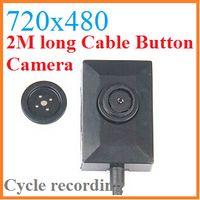 Wholesale Pinhole Cameras Hidden Camcorder Lens Camera with M USB Cable Spy Mini Button Camera