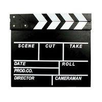 Wholesale Clapperboard Clapper Board TV Film Movie Slate Director s movie cut Scene board