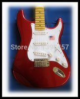 Wholesale new hot electric guitar can be customized processing multi color maple fretboard
