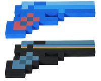 new toys for christmas - Minecraft Foam Diamond Pixelated Gun Weapons EVA Colors Toy New Christmas Cartoon Toys For Kids Winter Children Baby Free