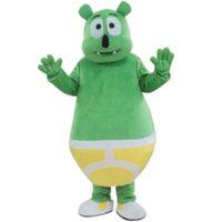 gummy bear - Fancytrader Green Gummy Bear Mascot Costume Fancy Dress
